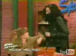 I wanna see Hillary Clinton and Monica Lewinski on Jerry Springer