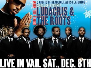 Ludacris, Roots up next in Snow Daze lineup