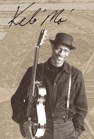 Keb Mo is a-comin' to town