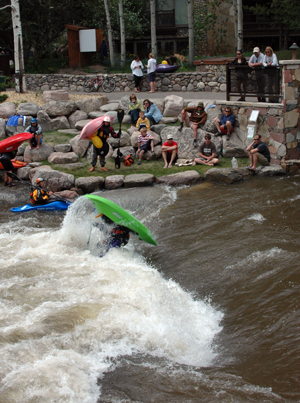 How a defunct Vail dam brought luck to the Teva Games