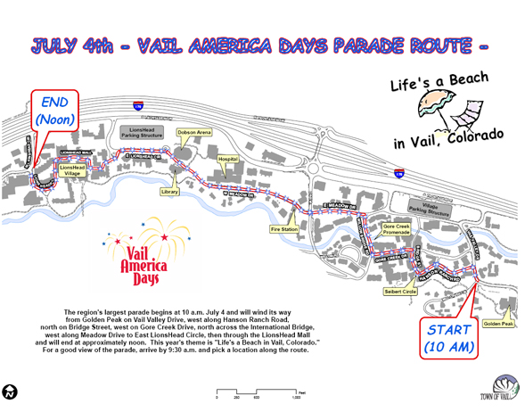 Vail Fourth of July Parade route announced