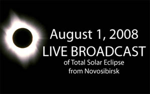 The website novosibirskguide.com will be broadcasting the eclipse live online this Friday, Aug. 1.