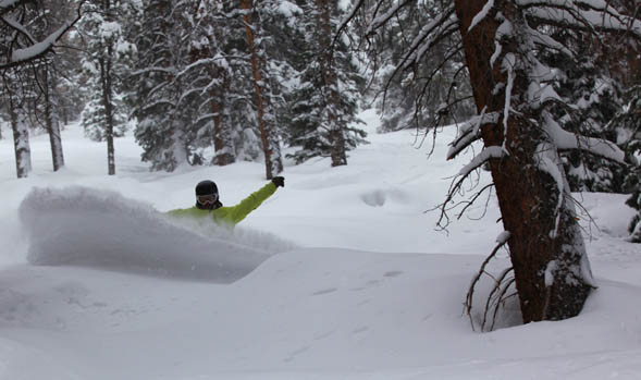 Blam! Vail powder day brings springtime in the Rockies