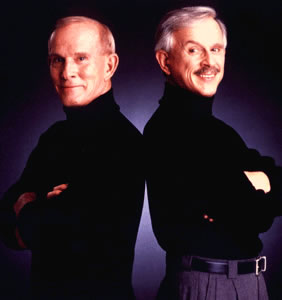 The Smothers Brothers perform at the Vilar Performing Arts Center in Beaver Creek Sunday as part of their 50th anniversary tour.