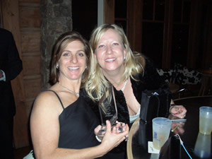 East West Partners� Shawna Topor, right, and Julie Bergsten of Slifer, Smith and Frampton celebrate EWP�s Business of the Year Award Jan. 25 at the Vail Valley Partnership�s annual gala at the Ritz-Carlton, Bachelor Gulch.