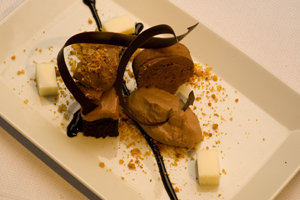 One of Sweet Basil�s signature desserts.