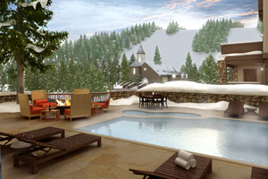 The newly renovated pool area, apres deck and tapas bar will be the outdoor highlight of the slopeside Osprey at Beaver Creek, the closest hotel to a chairlift in North America.