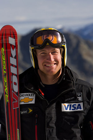 American skier Jimmy Cochran, above, was the top American finisher (14th) in today�s World Cup slalom in Reiteralm, Austria.